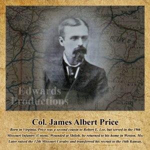 Missouri, veteran, civil war, platte county, James Albert Price