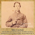 Missouri, guerrilla, Bushwhacker, border war, kansas, history, Riley Crawford