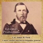 Missouri, guerrilla, Bushwhacker, border war, kansas, history, civil war, James H. Ford