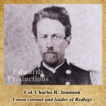 Charles R. Jennison, Redlegs, Missouri, guerrilla, Bushwhacker, border war, kansas, history, civil war