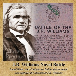 stand watie, confederate, cherokee, J.R. Williams