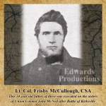 Frisby McCullough, Battle of Kirksville, Missouri, History, civil war