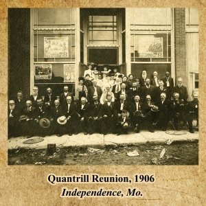 Missouri, guerrilla, Bushwhacker, border war, kansas, history, civil war, Quantrill Reunion, Independence