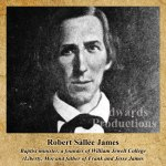 Missouri, history Robert Sallee James, William Jewell College, Jesse James