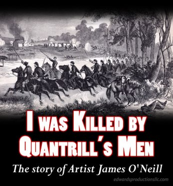 james o'neill, Baxter Springs, Kansas, Border War, Bleeding Kansas, WIlliam Quantrill