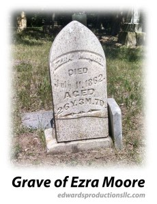 Quantrill, George Cemetery, Border War, Missouri, Ezra Moore