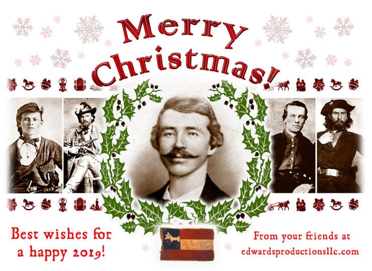 William Quantrill, Border War, Merry Christmas, Bloody Bill, George Todd, George Maddox, Jesse James